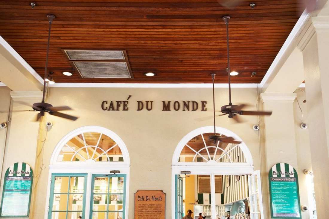 Where to eat in New Orleans - Cafe Du Monde
