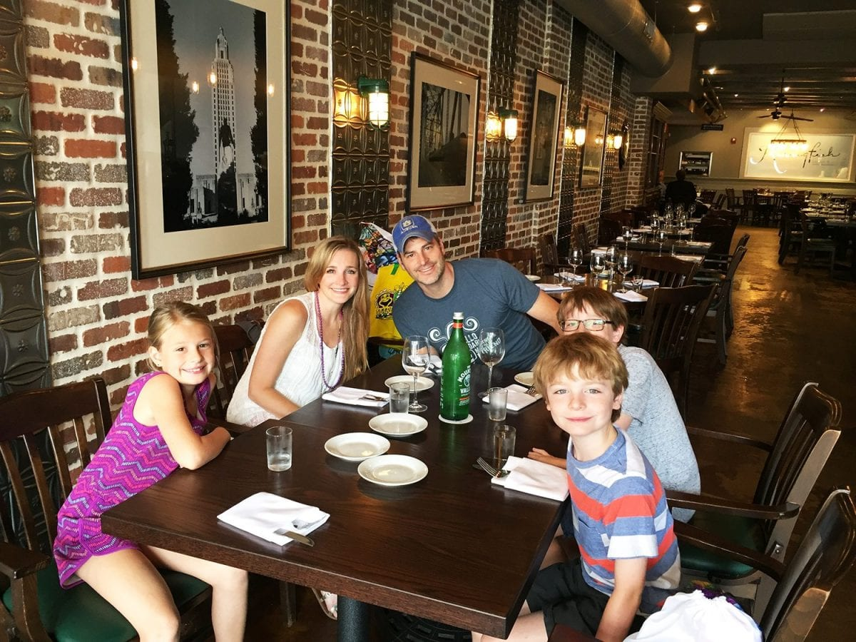 Places to eat in New Orleans - family