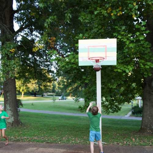 how to build a basketball goal – handmade and beautiful