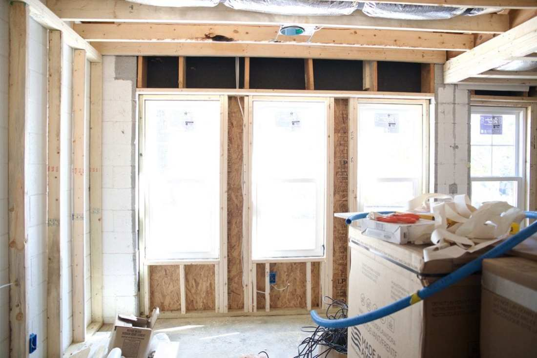 how to use spray insulation - getting ready