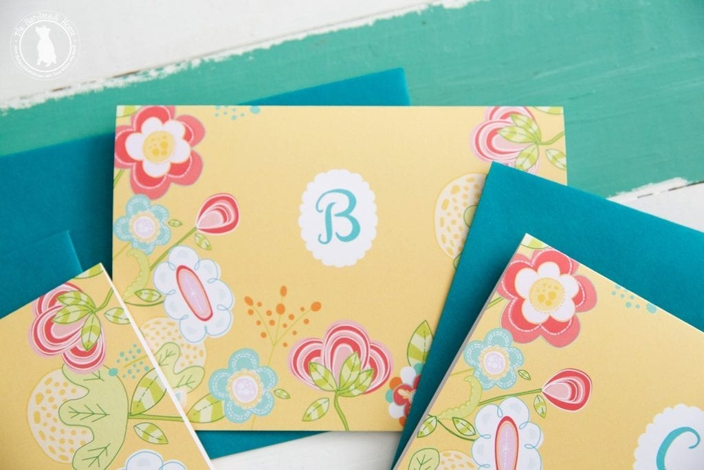 free monogram stationery - downloads