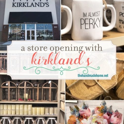 kirkland's giveaway + a store opening!