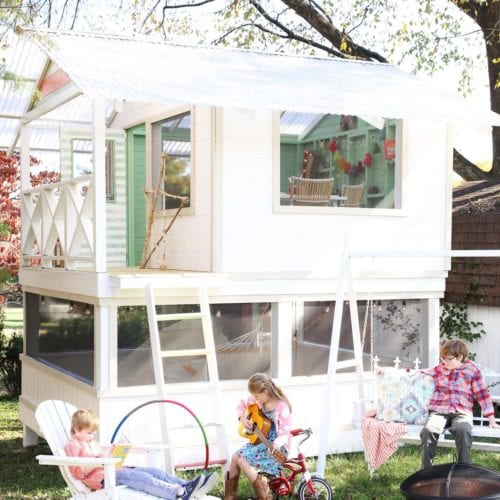 deck the handmade hideaway
