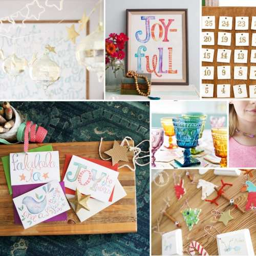 top ten handmade projects for the holidays