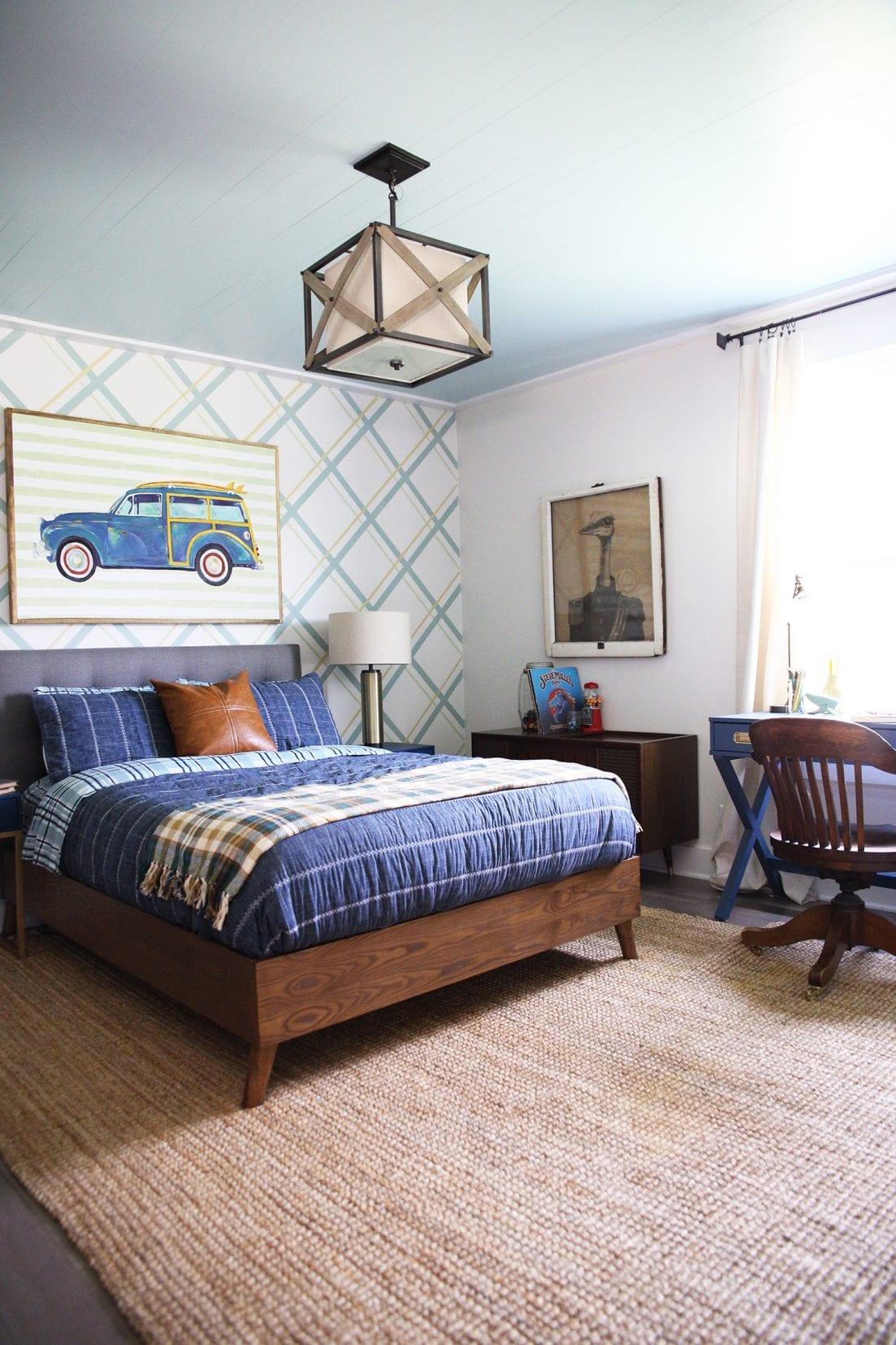 teen boy bedroom design
