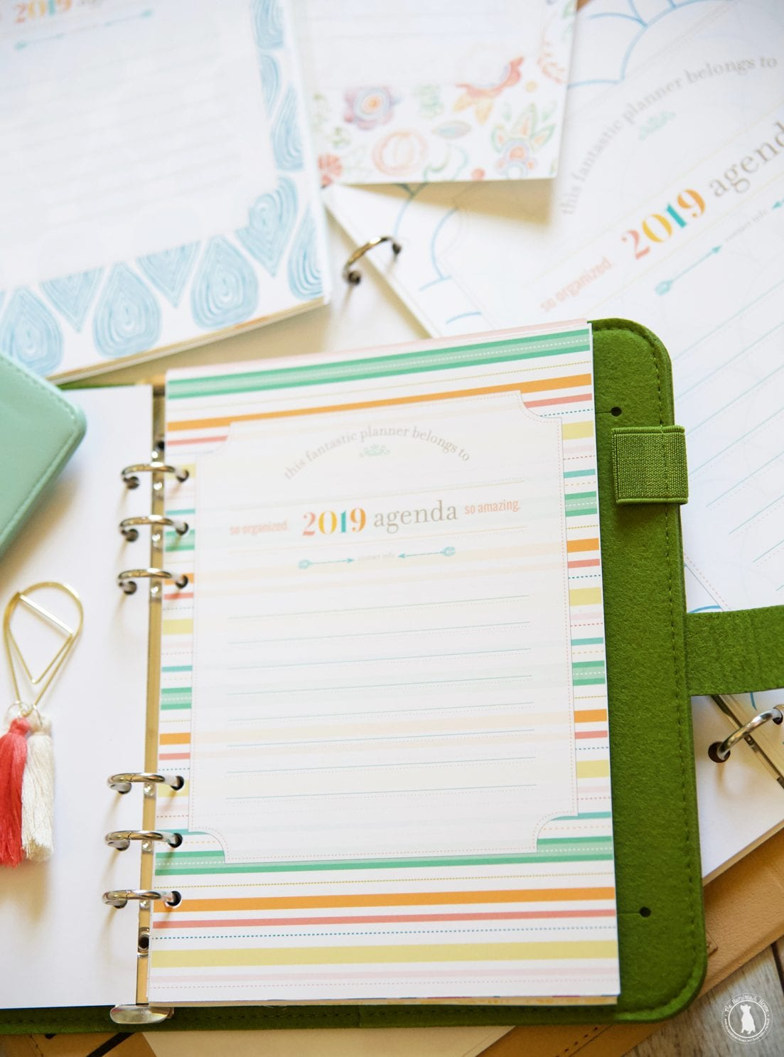 Free Planner 2019 Over 350 Customizable Free Files A Student Too