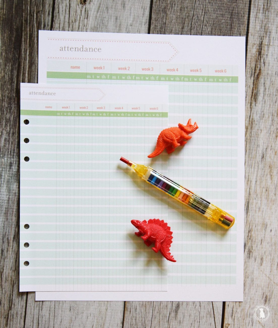 free planner - homeschool