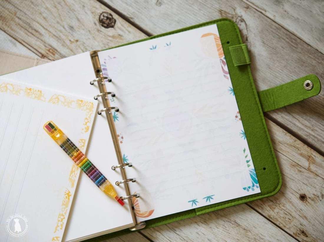 free planner - free journal