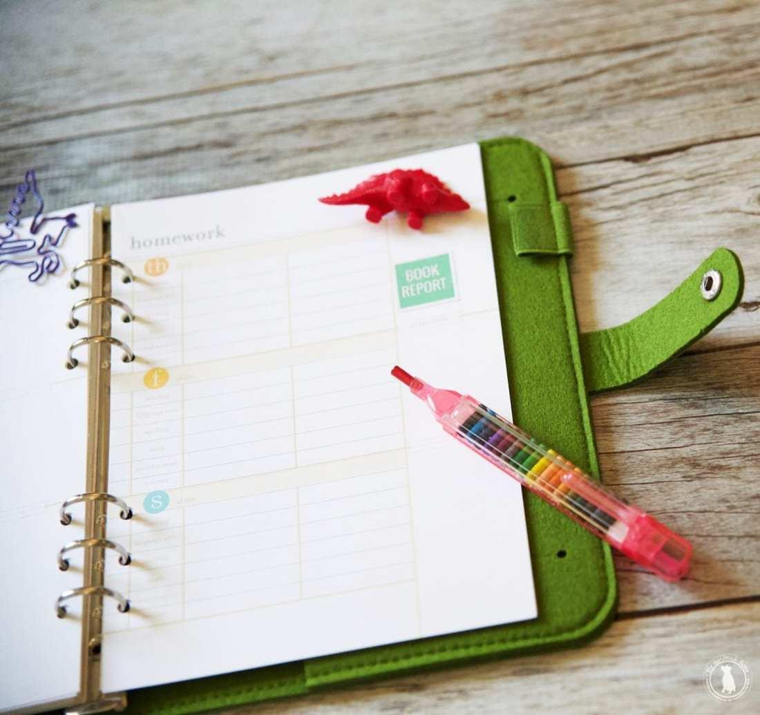 student free planner