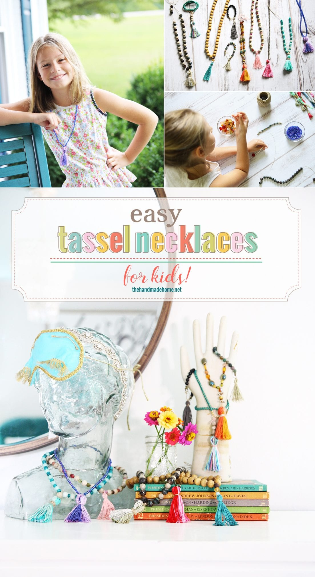 Easy Tassel Necklaces for Kids