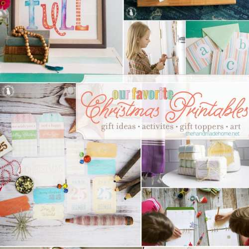 our favorite christmas printables