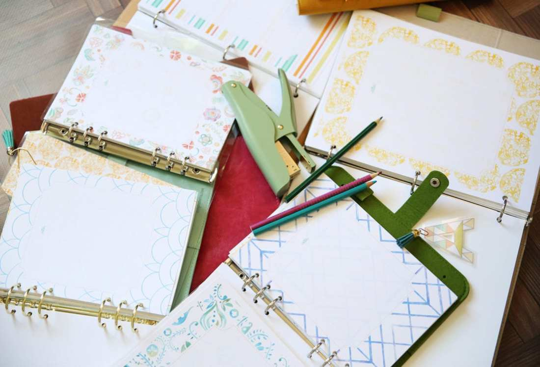 free planner pages