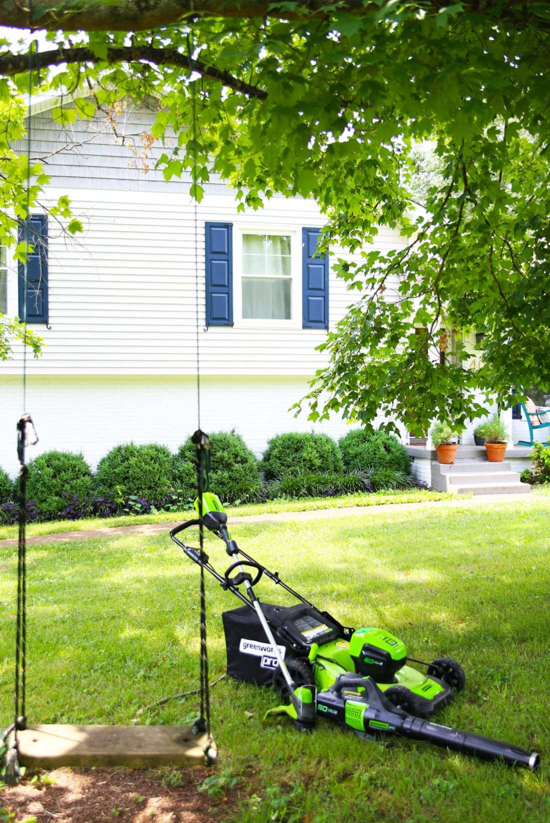 Is battery powered lawn equipment better?