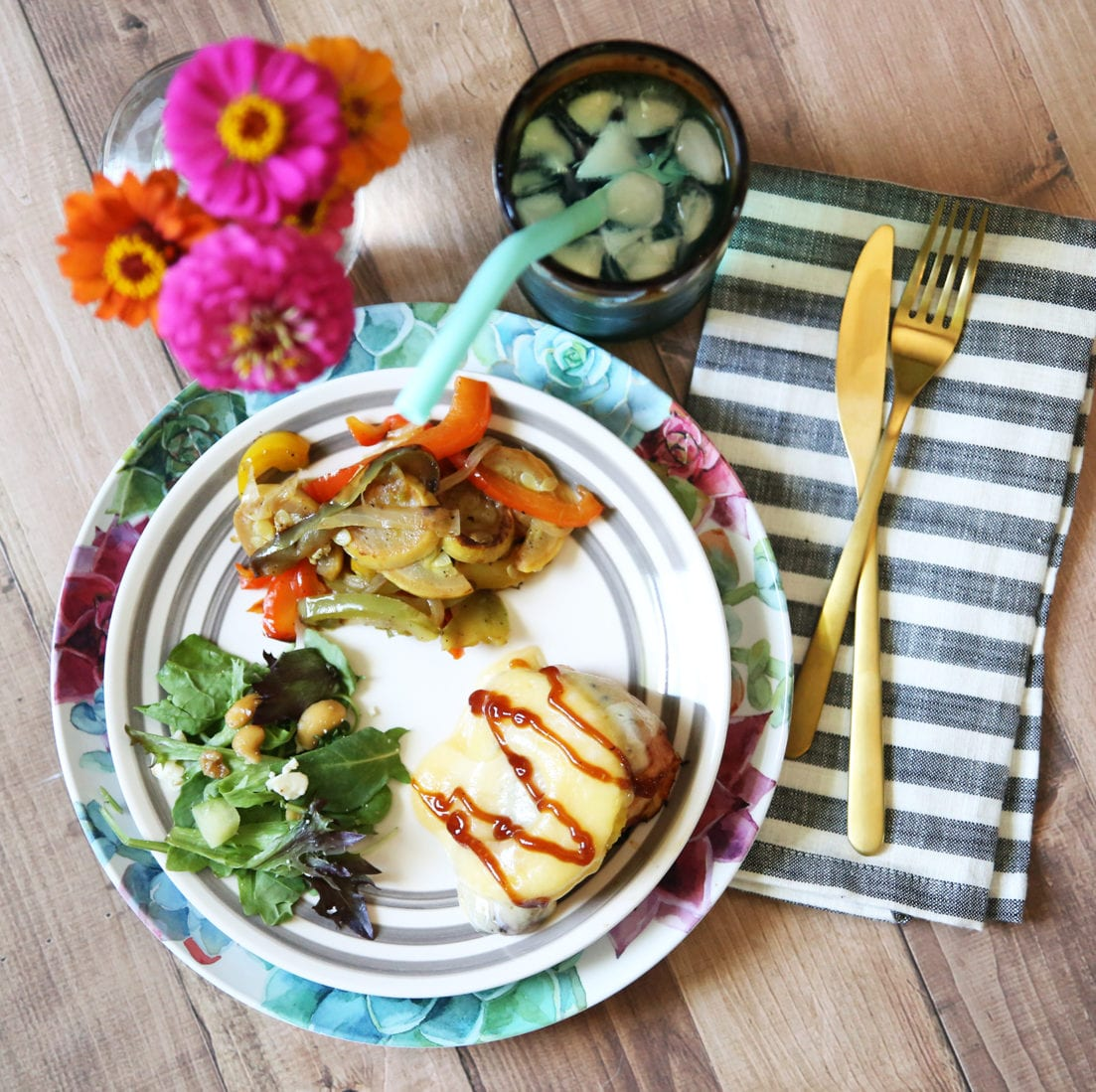 barbecue pineapple chicken