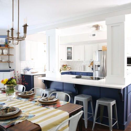 kitchen – shades of blue