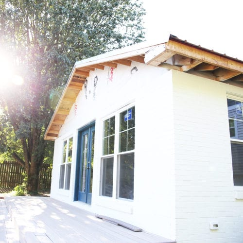 easiest way to paint a house {wagner sprayer}