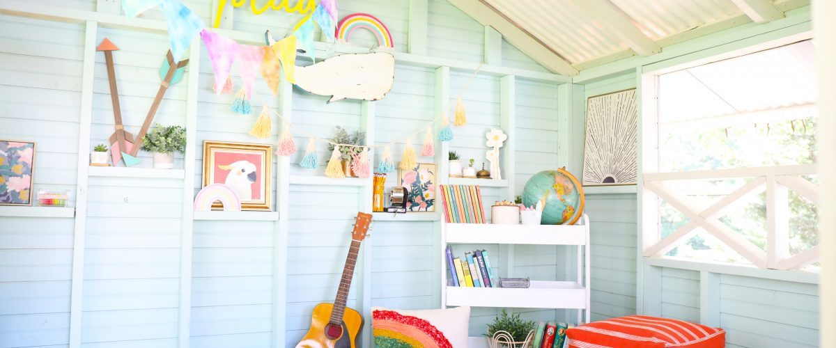 how to style a handmade hideaway
