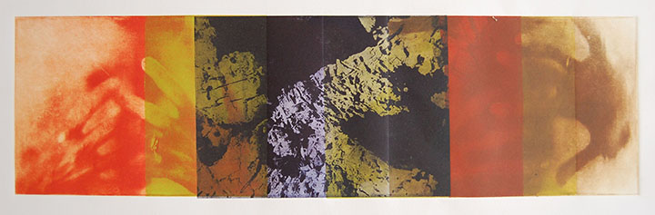 Maria Mineo (Somerville, NJ) Hiding Spaces Photo etching