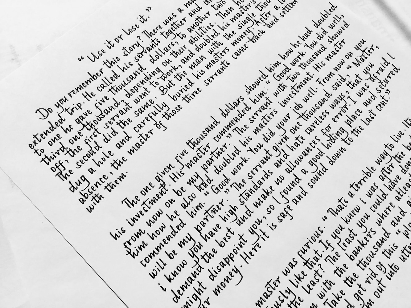 Amazing Handwriting Styles You Can Get Inspiration From