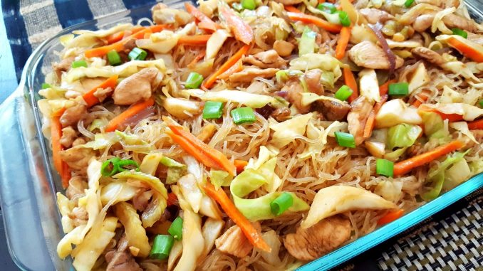 how to cook pancit noodles