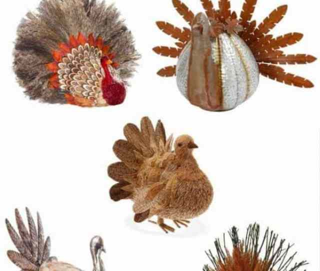 Top Your Thanksgiving Table Off With One Of These Turkey Decorations Get Them Before They
