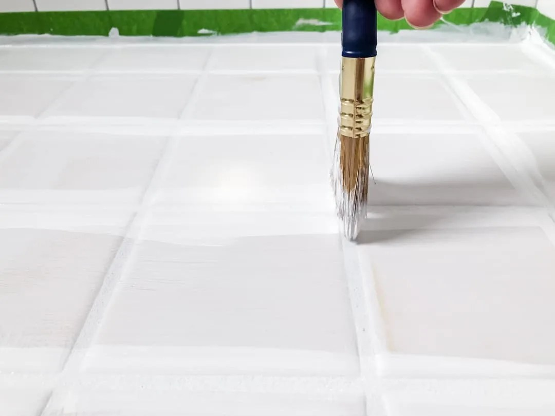 how to paint tile floors and avoid