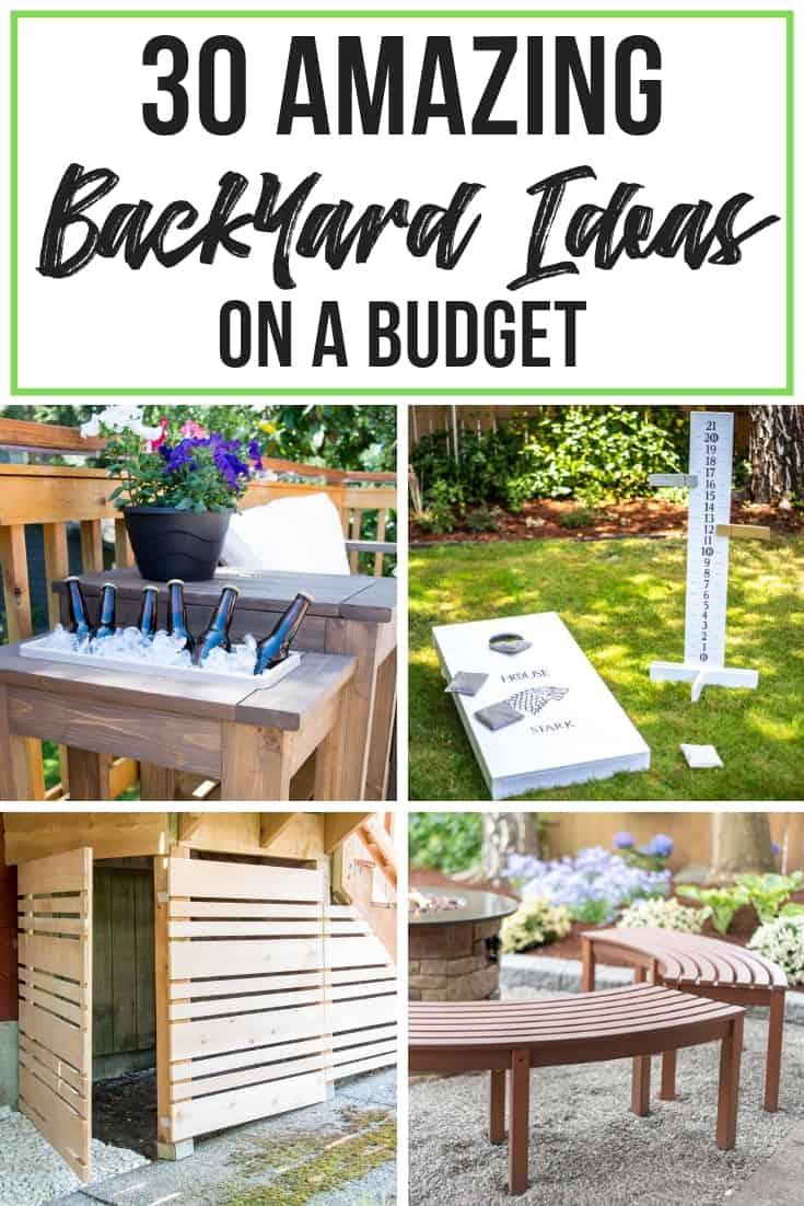 30 Amazing Backyard Ideas on a Budget - The Handyman's ... on Back Patio Ideas On A Budget id=70600
