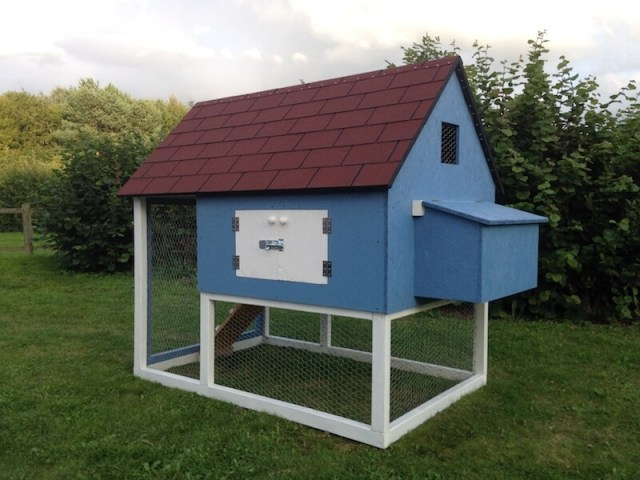 Traditional Chicken Coop