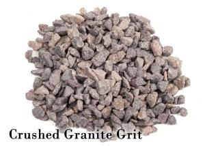 crushed granite chicken grit