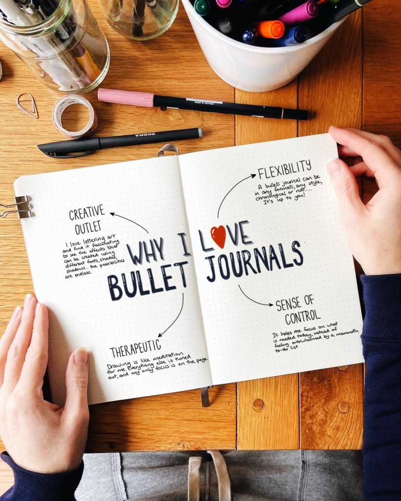 The reasons why I love bullet journals