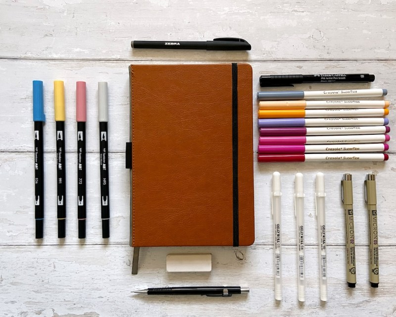 Current Favourite Bullet Journal Supplies
