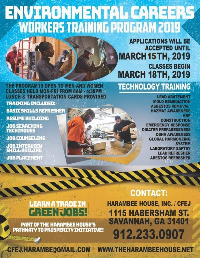 Environmental Careers Worker Training Program (ECWTP) 2019 - The
