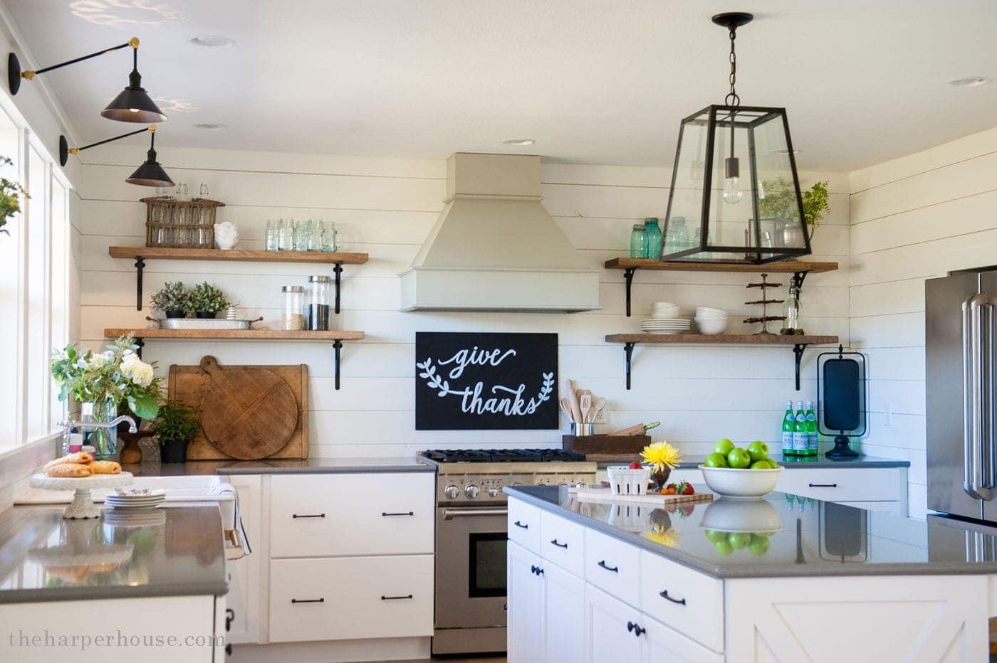 Our Farmhouse Kitchen Reveal The Harper House