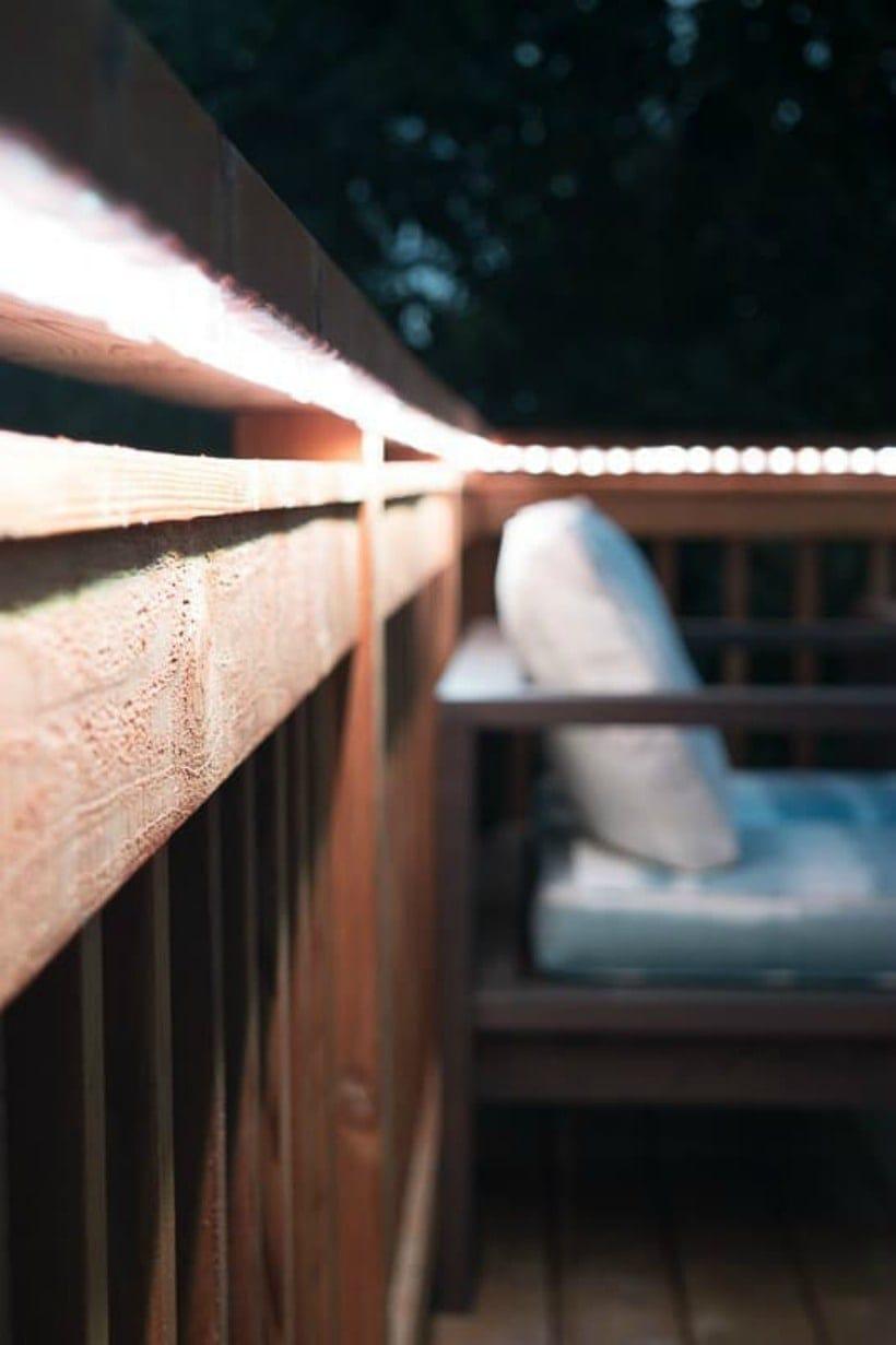 deck lighting ideas diy ideas to