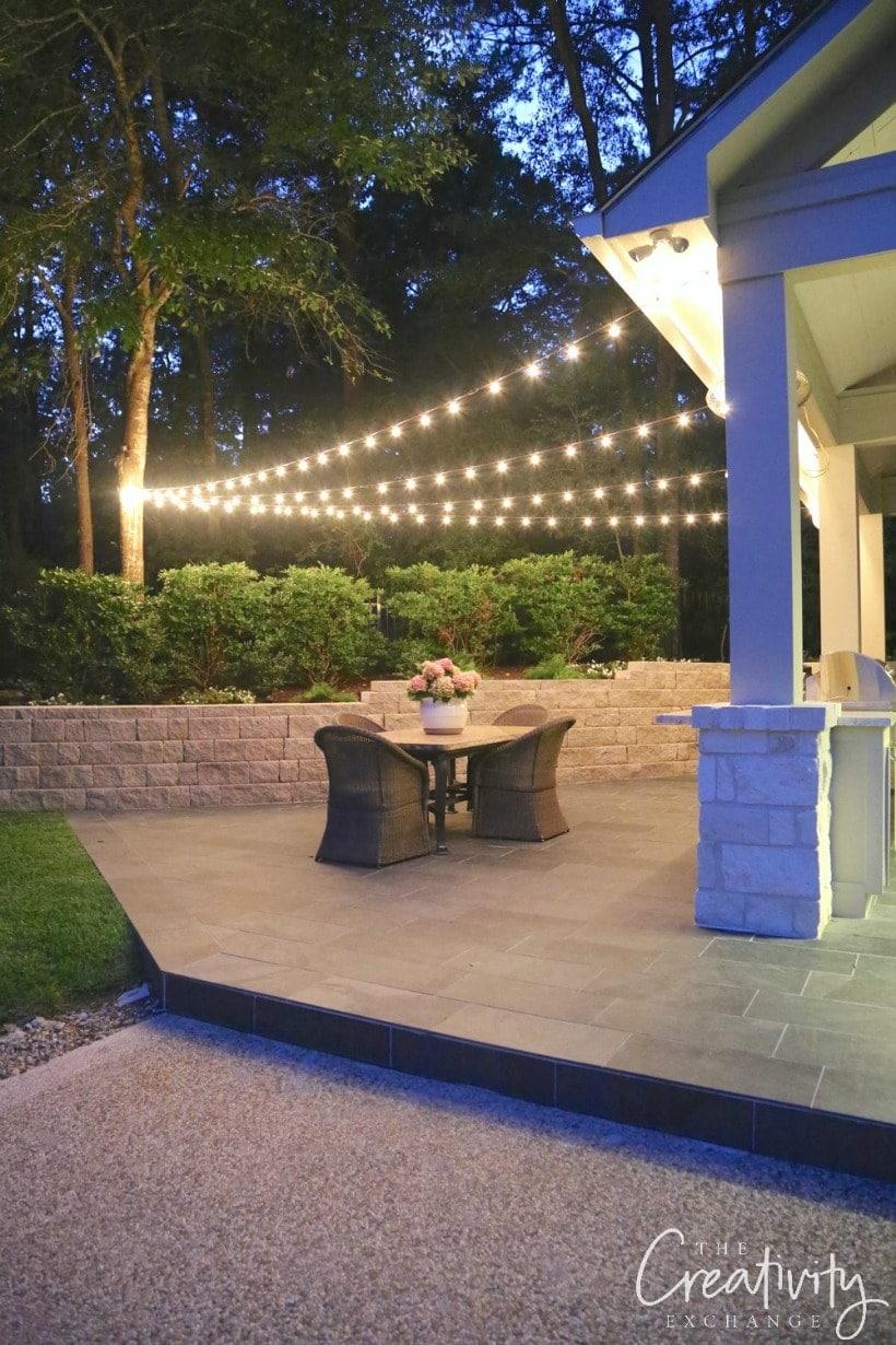 Deck Lighting Ideas - DIY Ideas to Brighten any Outdoor ... on Backyard String Lights Diy  id=88047