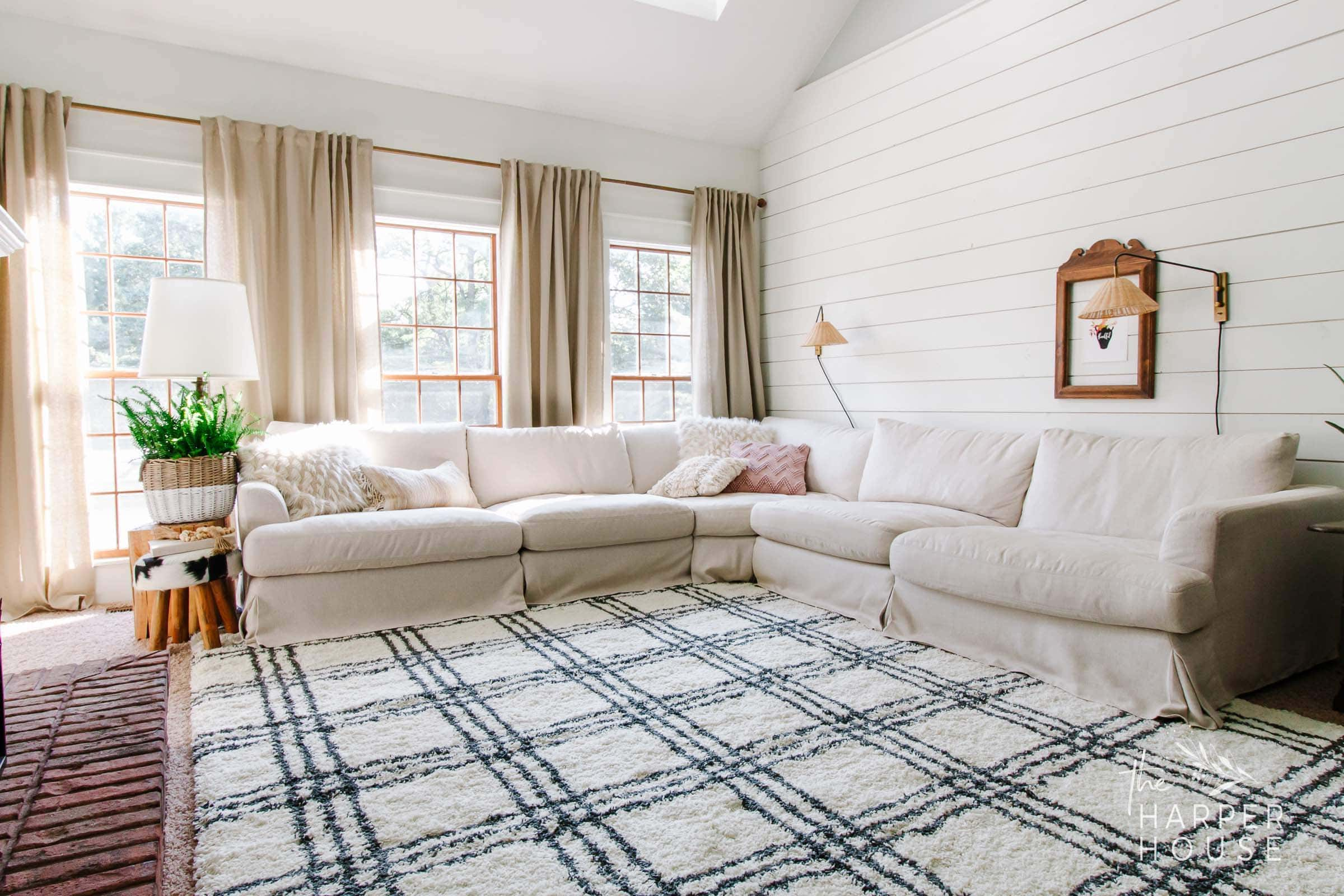 Black White Rug And Affordable Fall Favorites The Harper