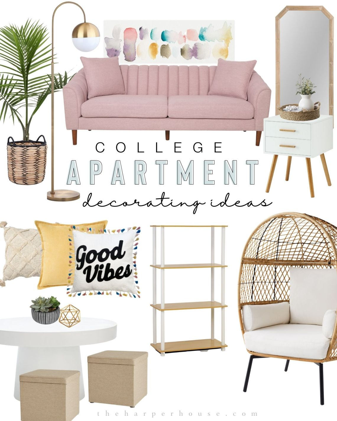 College Apartment Decorating Ideas You Can Actually Afford 2021