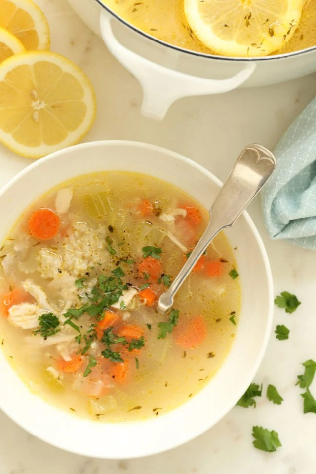 Image result for chicken and quinoa soup