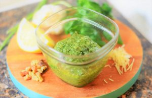 lemon basil pesto