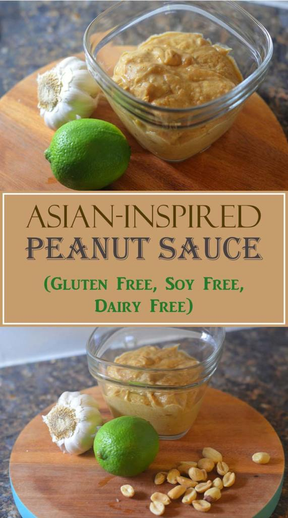 asian inspired peanut sauce peanut butter ginger lime stir fry