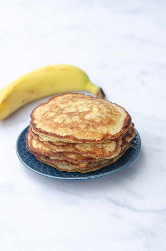 Super easy to make three-ingredient banana pancakes?! Count me in! This recipe is also gluten-free, grain-free and dairy-free!