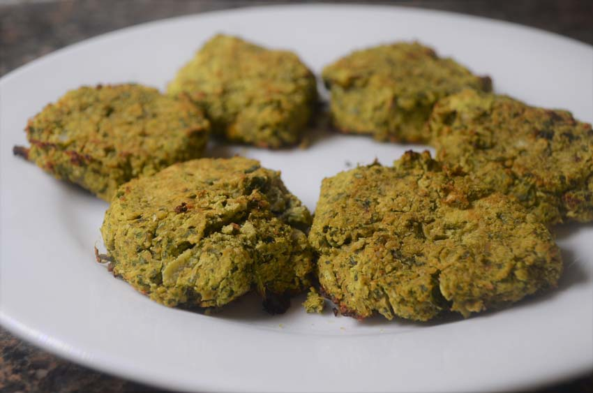 homemade vegan gluten free falafel grain free