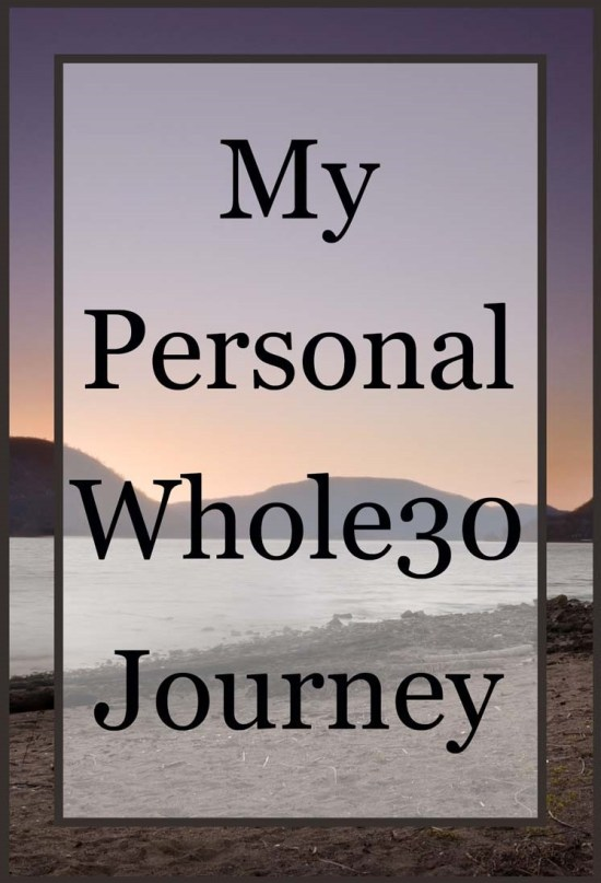 personal whole30 journey
