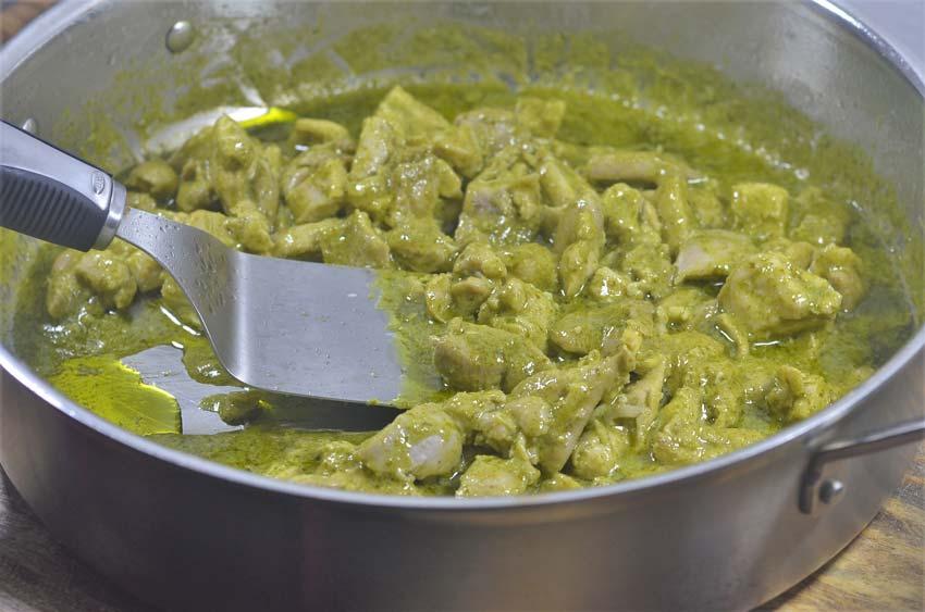 creamy cilantro lime chicken low carb keto