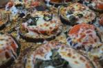 These eggplant pizzas are so amazing for when you have a surplus of eggplants from the garden. Super easy and delicious to make. Low-carb, gluten-free, grain-free, ketogenic, vegetarian.