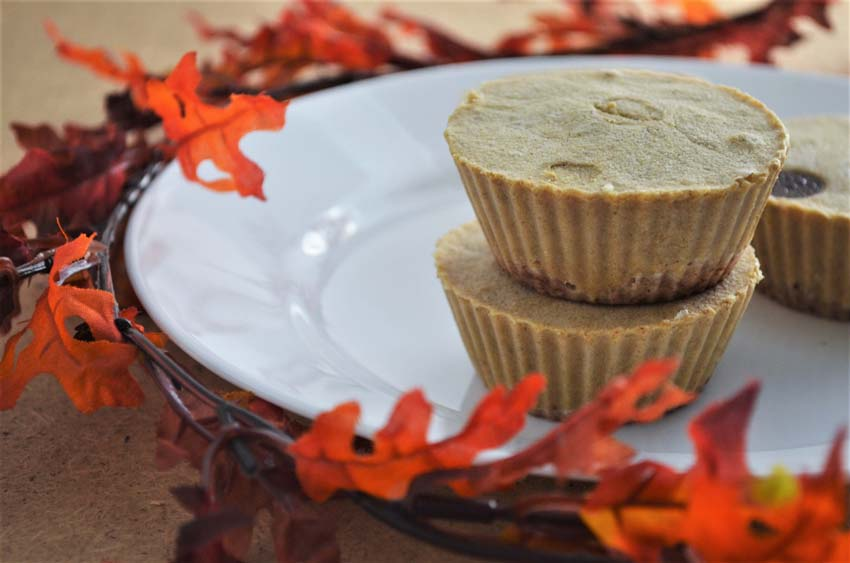 pumpkin mini cheesecake vegan gluten-free grain-free