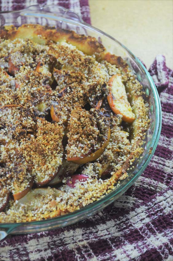 low sugar apple pie paleo whole30 dairy free gluten free grain free