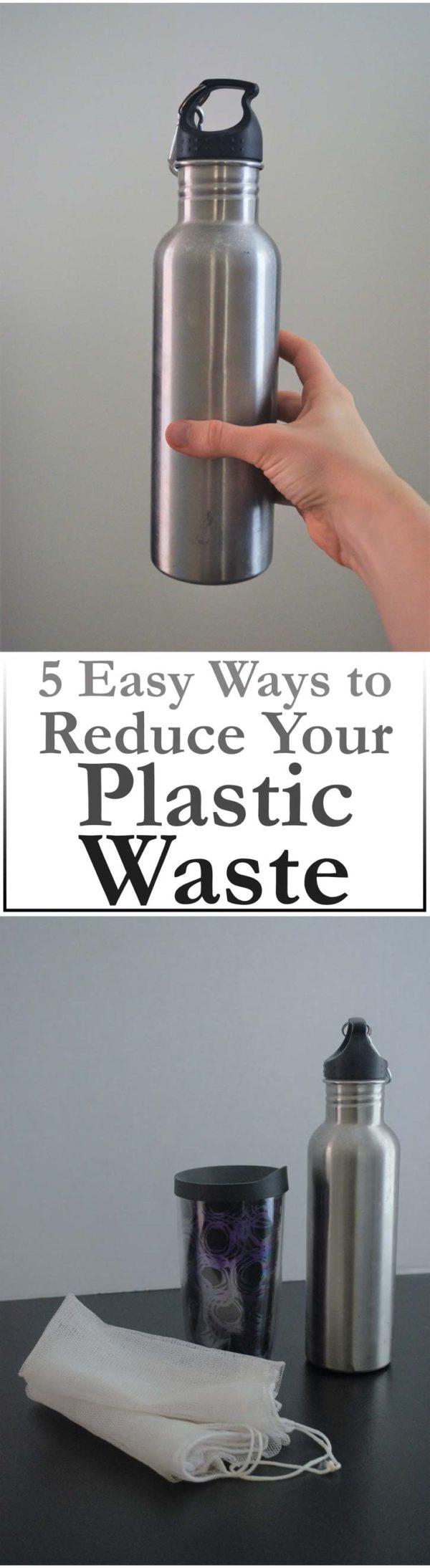 plastic waste reduction zero waste environmentally friendly
