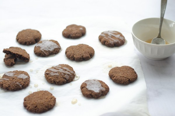 Perfect for the holidays, these soft gingerbread cookies are a sweet, indulgent treat, while still staying in the realm of a health food. Paleo, gluten-free, grain-free and dairy-free.