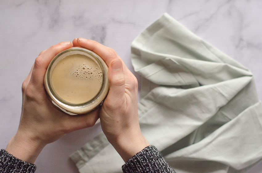 A deliciously creamy and rich bulletproof-style hot chocolate recipe made low-carb and ketogenic with the addition of your favorite add-ins such as heavy cream, butter, MCT oil, collagen peptides and sweetener.
